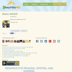 baghzaf1 at EasyHits4U traffic exchange