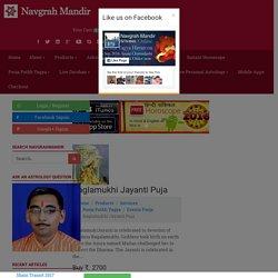 Online Baglamukhi Jayanti Puja at Navgrah Mandir
