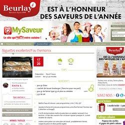 Baguettes excellentes!!! au thermomix - Emilie S.