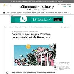Bahamas-Leaks: Politiker nutzen Land als Steueroase
