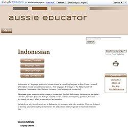 Bahasa Indonesian