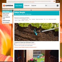 Bahçe Dergisi | Bahçe Hayatı | GARDENA