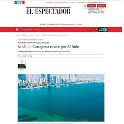 Bahía de Cartagena revive por El Niño