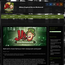 JJ's Irish Restaurant - Restaurants in Bahrain