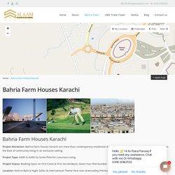 Bahria Farm Houses Karachi - Bahria Town Karachi - Salaam Estates