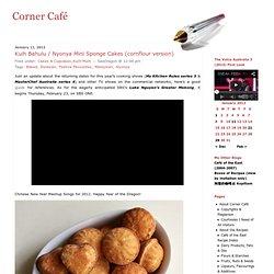 Kuih Bahulu / Nyonya Mini Sponge Cakes (cornflour version) « Corner Café