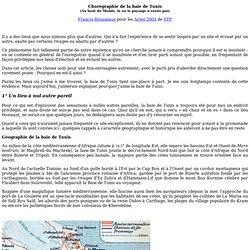Baie de Tunis (Rousseaux pour STP)