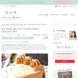 An Easy Chocolate Cheesecake Recipe