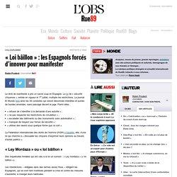 «Loi bâillon»: les Espagnols forcés d'innover pour manifester