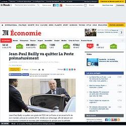 Jean-Paul Bailly va quitter La Poste prématurément