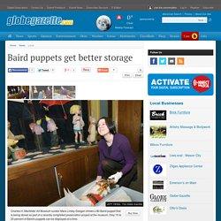Baird puppets get better storage