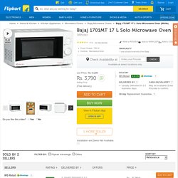 Bajaj 1701MT 17 L Solo Microwave Oven - Solo