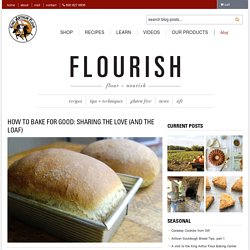 How to bake for good - Flourish - King Arthur Flour