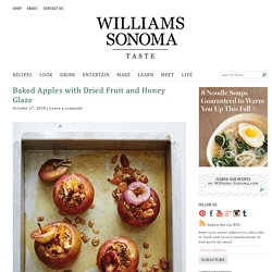 Baked Apples with Dried Fruit and Honey Recipe
