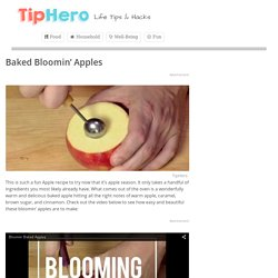 Baked Bloomin' Apples