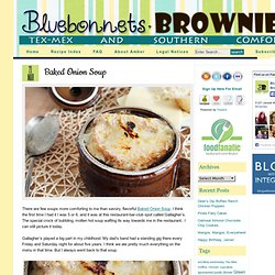 Baked Onion Soup | Bluebonnets