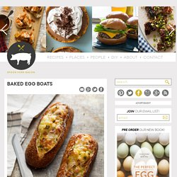 Baked Egg Boat recipe - StumbleUpon