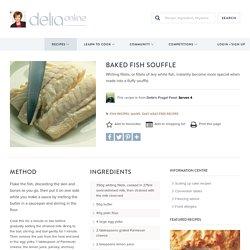 Baked Fish Souffle