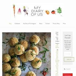 Baked Pesto Risotto Balls — My Diary of Us