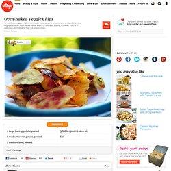 Oven-Baked Veggie Chips