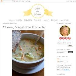 Cheesy Vegetable Chowder
