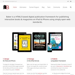 Baker Ebook Framework 3.0