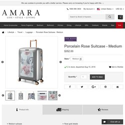 Buy Ted Baker Porcelain Rose Suitcase