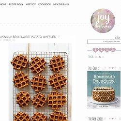 Joy the Baker Vanilla Bean Sweet Potato Waffles - Joy the Baker