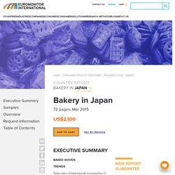 Bakery in Japan