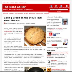 Baking Bread on the Stove Top: Yeast Breads