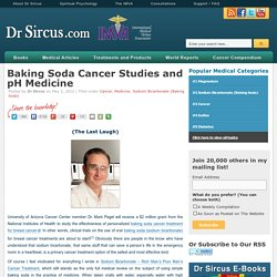 Baking Soda Cancer Studies and pH Medicine