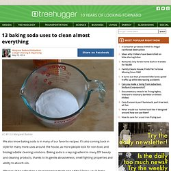 13 baking soda uses to clean almost everything