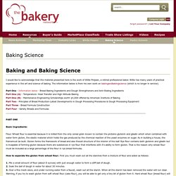 The Bakery Network