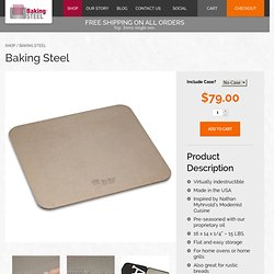 Create Some LoveBaking Steel