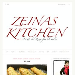 Baklava - ZEINAS KITCHEN