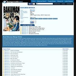 Bakuman Manga - Read Bakuman Online For Free
