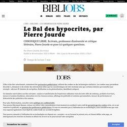 Le Bal des hypocrites, par Pierre Jourde