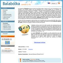 Balabolka - Oralisateur de texte