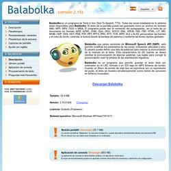 Balabolka