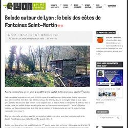 Balade autour de Lyon : le bois des côtes de Fontaines Saint-Martin