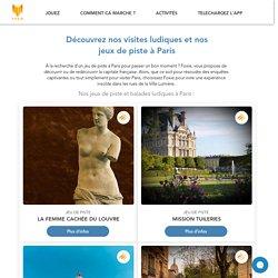 Balades et jeux de piste à Paris - Activités ludiques