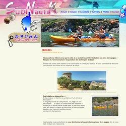 Balades et Excursions en kayak de mer à Propriano en Corse Sud Nautik