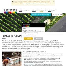 Balades fluviales en Bourgogne
