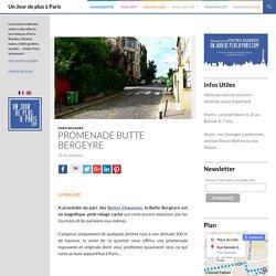Balades à Paris - la Butte Bergeyre