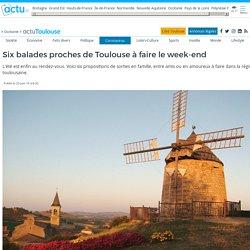 Six balades proches de Toulouse à faire le week-end