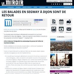 Les balades en Segway à Dijon sont de retour