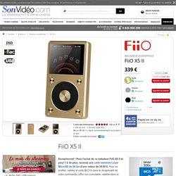 FiiO X5 II Baladeurs audiophiles sur Son-Vidéo.com