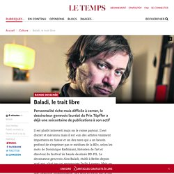 Baladi, le trait libre - Le Temps