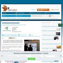 Le tableau interactif et la baladodiffusion en enseignement des langues