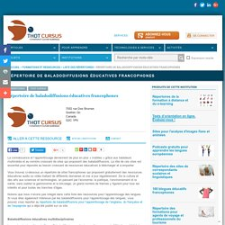 Répertoire de baladodiffusions éducatives francophones